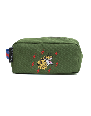 Toiletry bag Grrrr Tiger Green