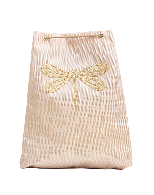 Small sport bag pink Dragonfly
