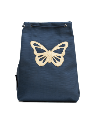 Small sport bag navy Butterlfy