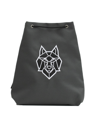 Small sport bag grey Wolf