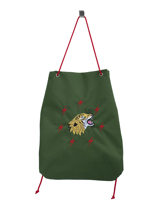 Small sport bag Grrrr Tiger Green