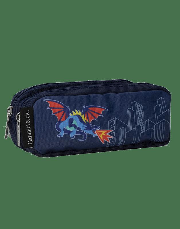 Double pencil case Dragonosaure