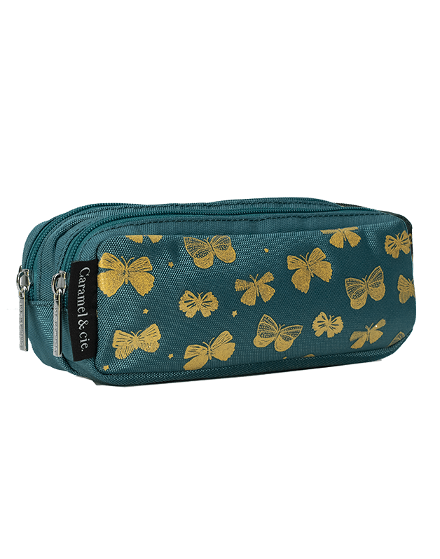 Double pencil case Butterfly Princess