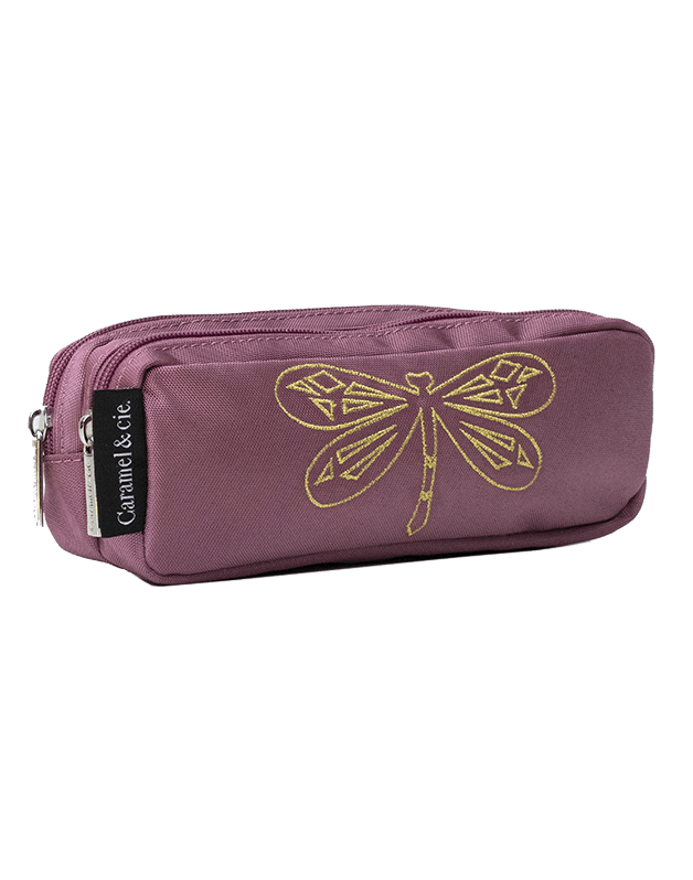 Double pencil case Poetic Dragonfly