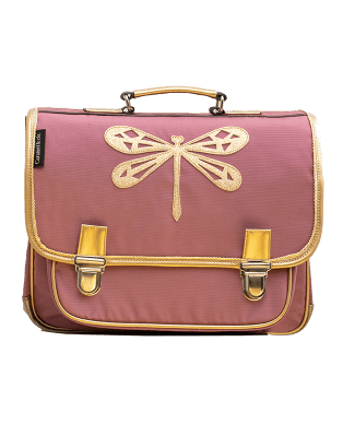 Large Satchel Poetic Dragonfly