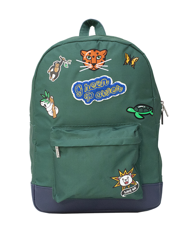 Green Power Backpack