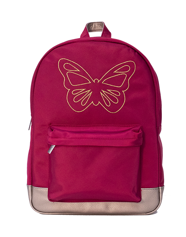 Backpack Ruby Butterfly