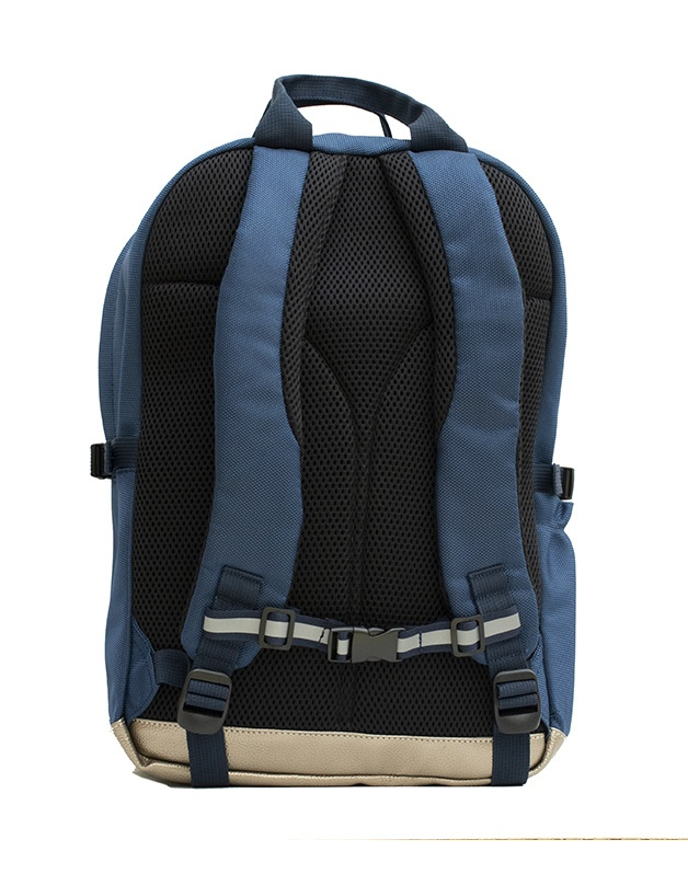 Large Backpack Blue Butterfly