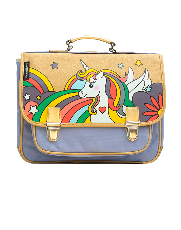 Medium schoolbag Pop Unicorn