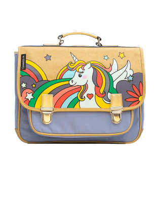 Medium schoolbag Pop Unicorn