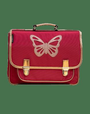 Cartable Moyen Papillon Rubis