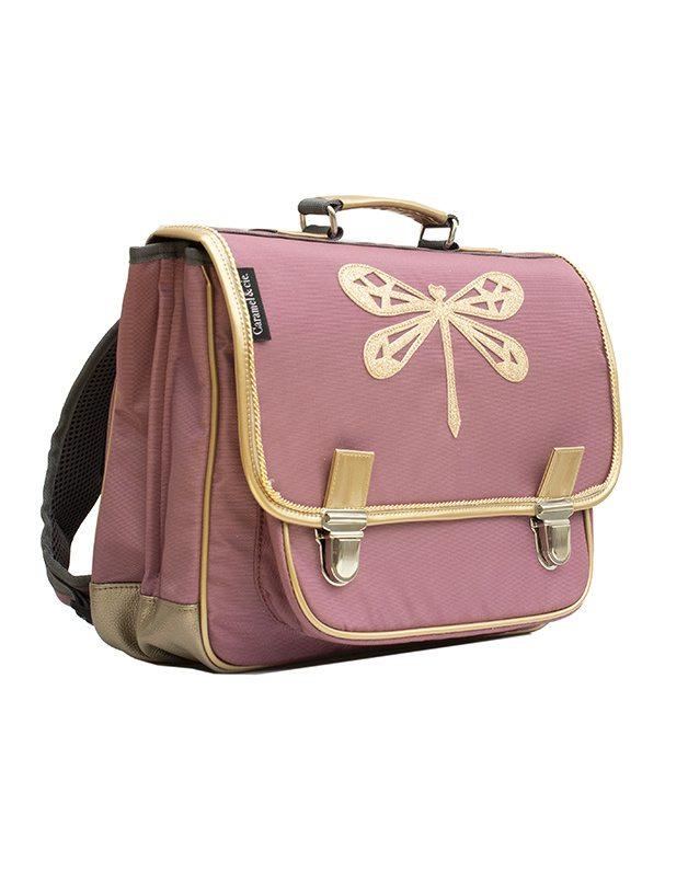 Medium schoolbag Poetic Drangonfly