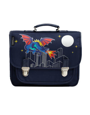 Medium schoolbag Dragonosaure