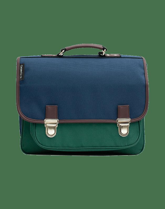 Medium schoolbag Color Block 1