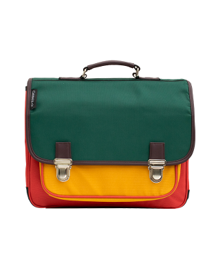 Medium schoolbag Color Block 2