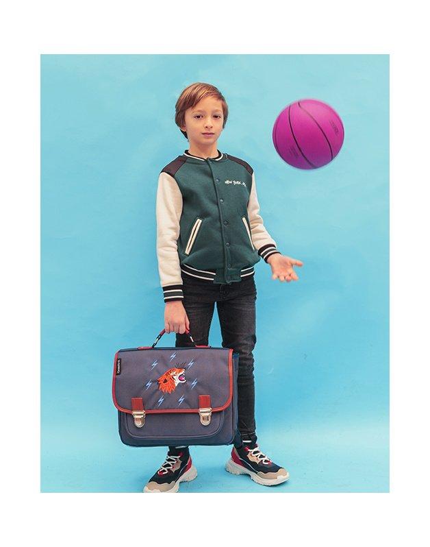 Medium schoolbag Grrr Blue