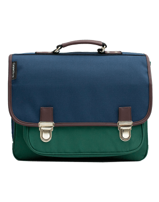 Large Satchel Color block 1