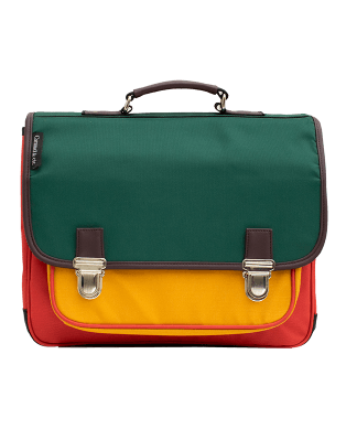 Large Satchel Color block 2