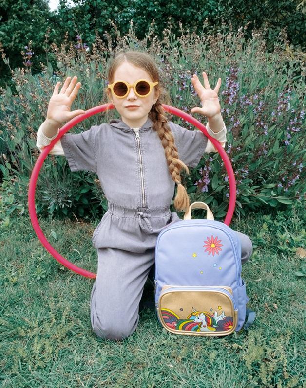Small Pop unicorn backpack