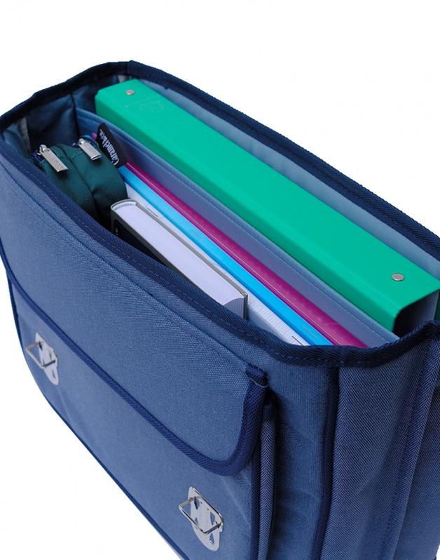 Medium schoolbag Blue Wolf
