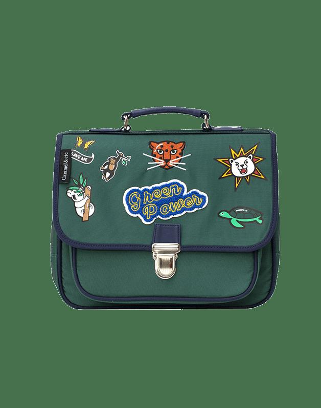 Small Green Power satchel