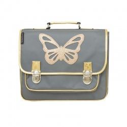 Medium grey Butterfly satchel